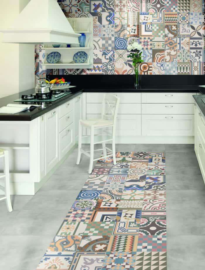 zeinah moroccan tiles from walls and floors