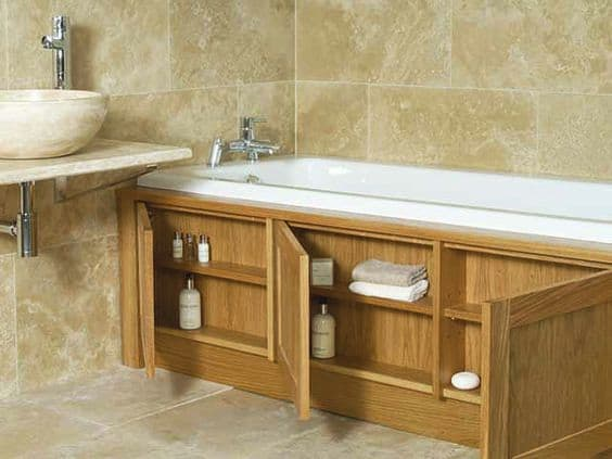 Awesome  First To Review Solid Oak Bathroom Storage Unit 402 Cancel Reply