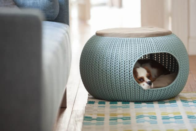 Cozy Designer Pet Home from the Knit collection by Curver 2 - Image credit Daniel Lailah