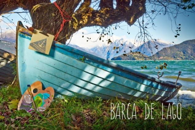 Inspiration for ColourCourage BARCA DE LAGO paint by Lars Contzen