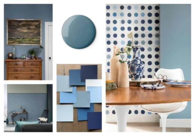dulux colour of the year 2017 denim drift the design. Black Bedroom Furniture Sets. Home Design Ideas