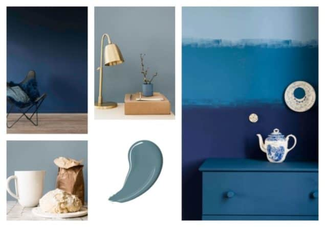 Dulux Colour Of The Year 2017 Denim Drift The Design