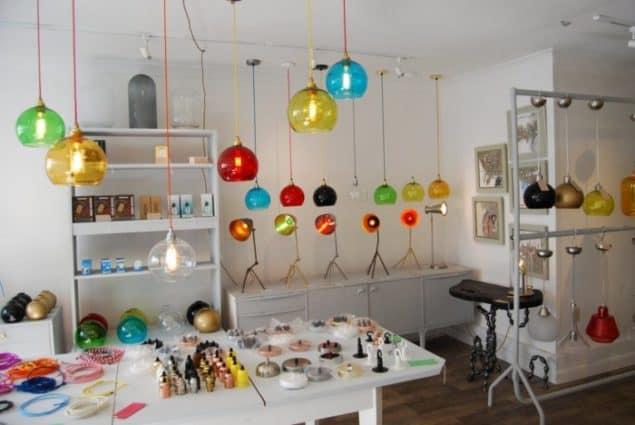 Mushroom Designs Totnes Devon Lighting Showroom