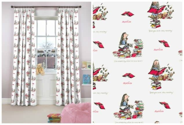 roald dahl matilda curtains from curtains.com