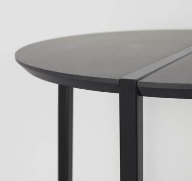 [MannMade London] Battersea collection, Banbury side table, dark, detail, £225