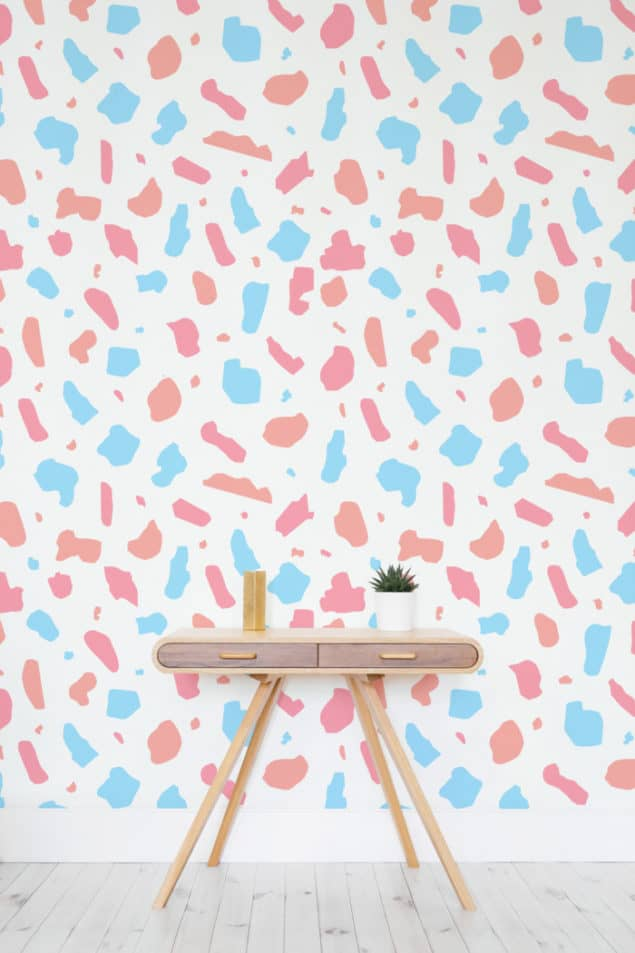 Pastel Terrazzo Wall Murals from Murals Wallpaper