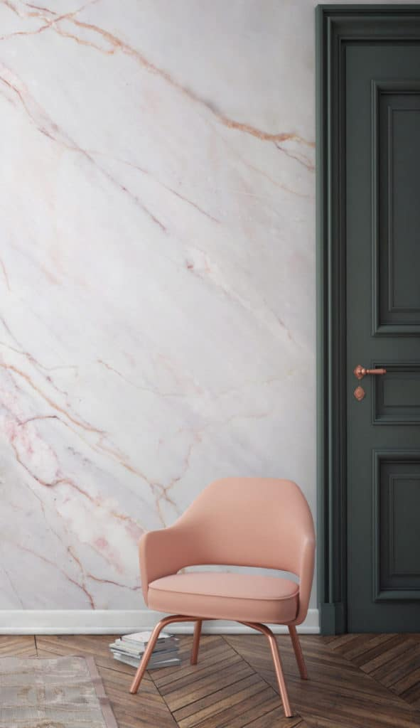 Cracked Natural Marble Wallpaper from Murals Wallpaper
