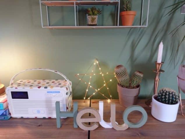 Livingroom makeover sideboard styling 2