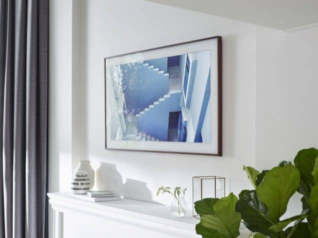 Disguise your TV with a Samsung Frame TV