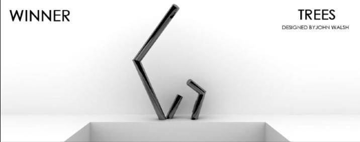 The winning design by John Walsh