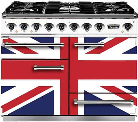 Falcon Union Jack range cooker