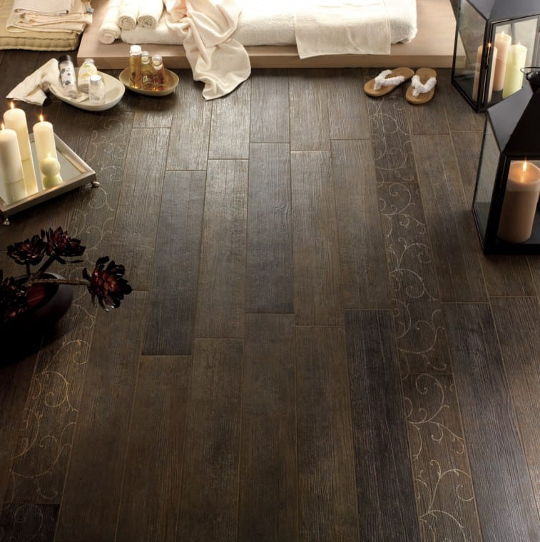 Fondovalle S Ironwood Ceramic Floor Tiles Mimic Natural Wood