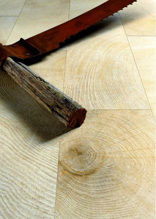 W-Age wood-effect ceramic floor tiles by Provenza
