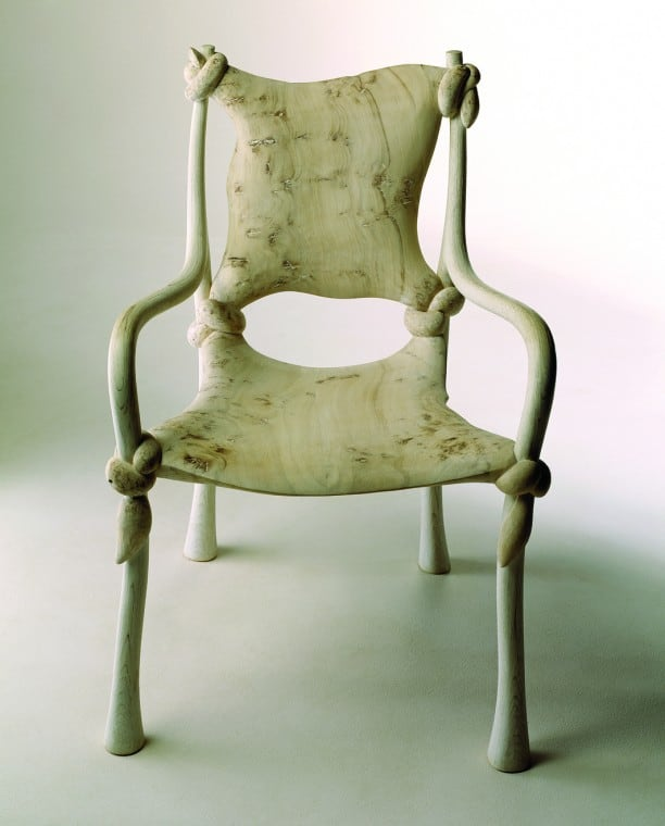 Knot Chair by John Makepeace