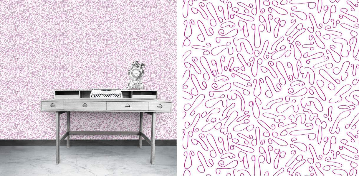 Naughty Wallpaper from Filthy Home - The Design Sheppard
