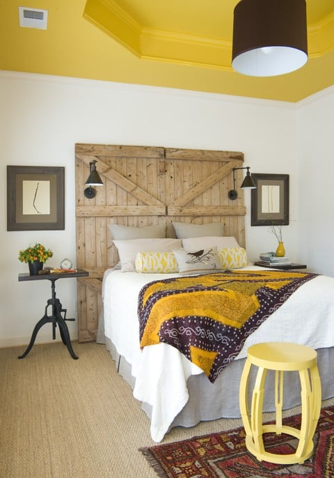 Pin This Image On Pinterest Yellow White Purple Bedroom