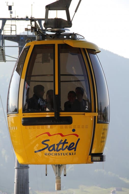 Cable cars Stuckli Rondo Switzerland