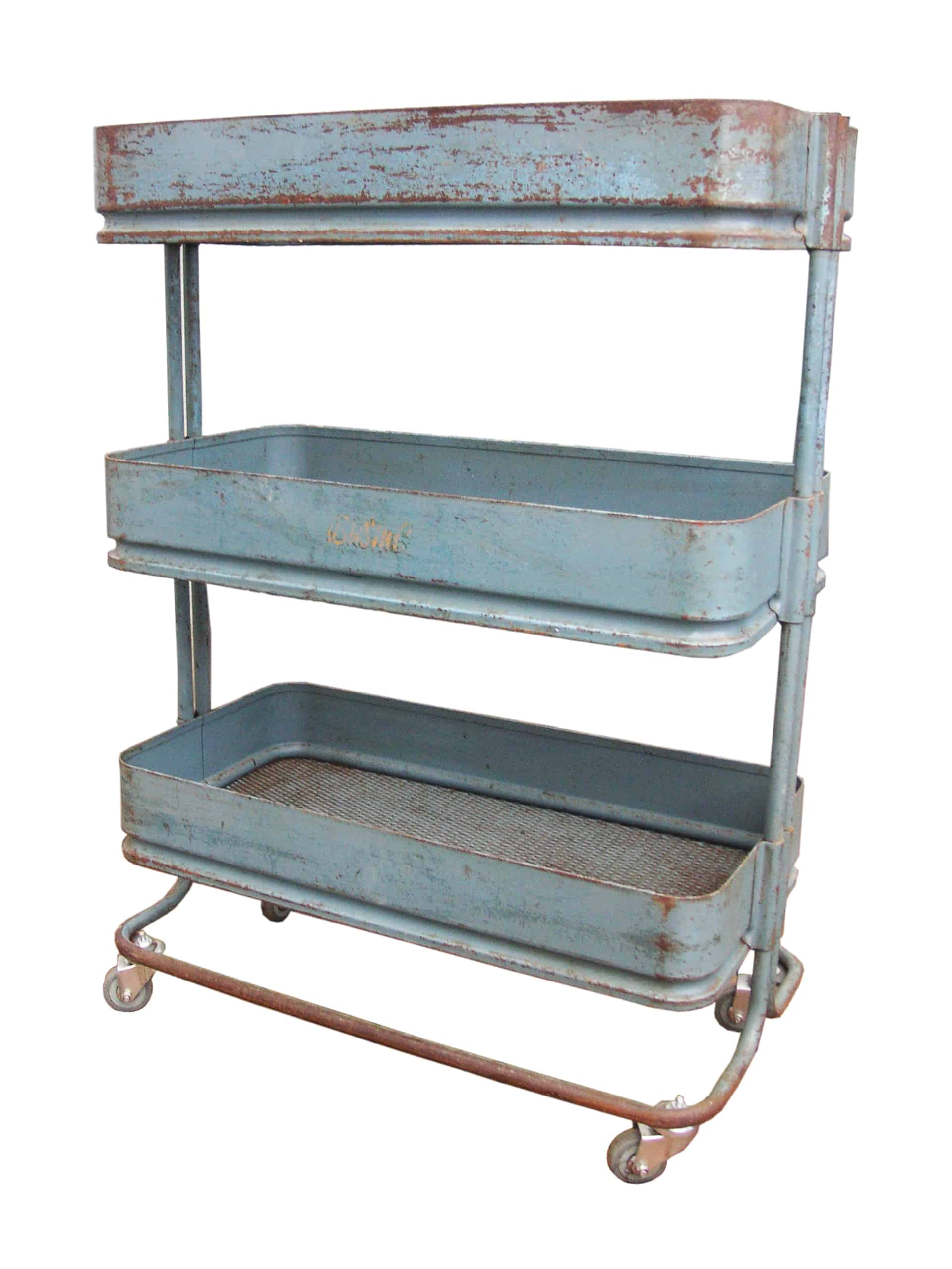 Vintage Textile Factory Trolley from Bubbledrum