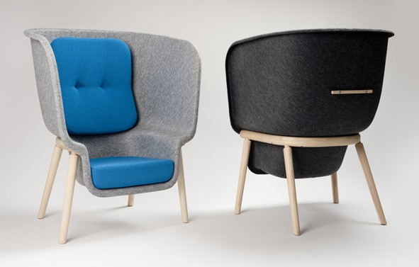 Pod Chair by Benjamin Hubert