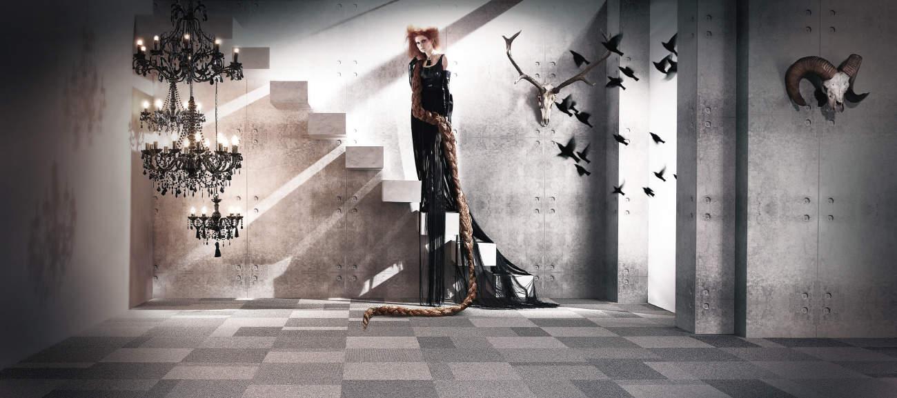 Once Upon a tile by InterfaceFLOR -Rapunzel