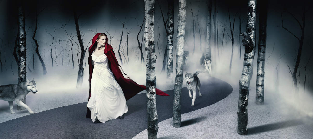 Once uopn a tile by interfaceFLOR - Red Riding Hood
