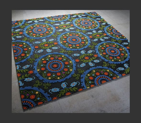RUSSIAN rug by Floor to Heaven