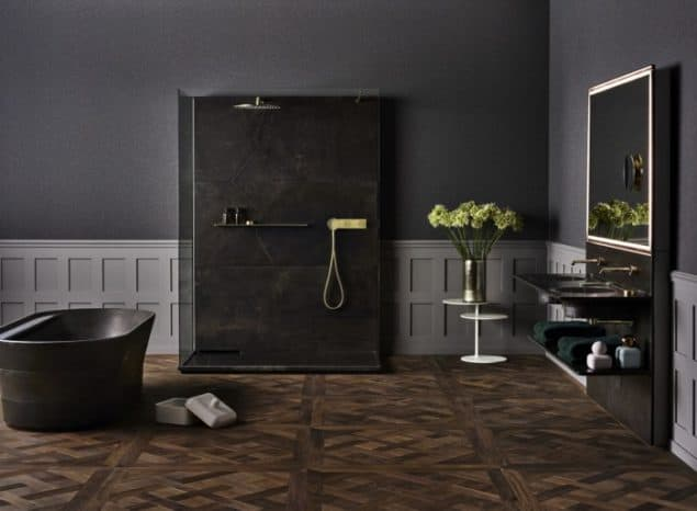 Porcelanosa Tono Collection in partnership with Foster & Partners - grey interiors