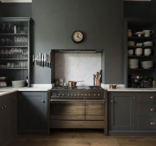 Shaker Kitchen by DeVOL - grey interiors