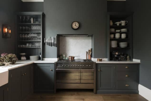 Shaker Kitchen by DeVOL - grey interiors