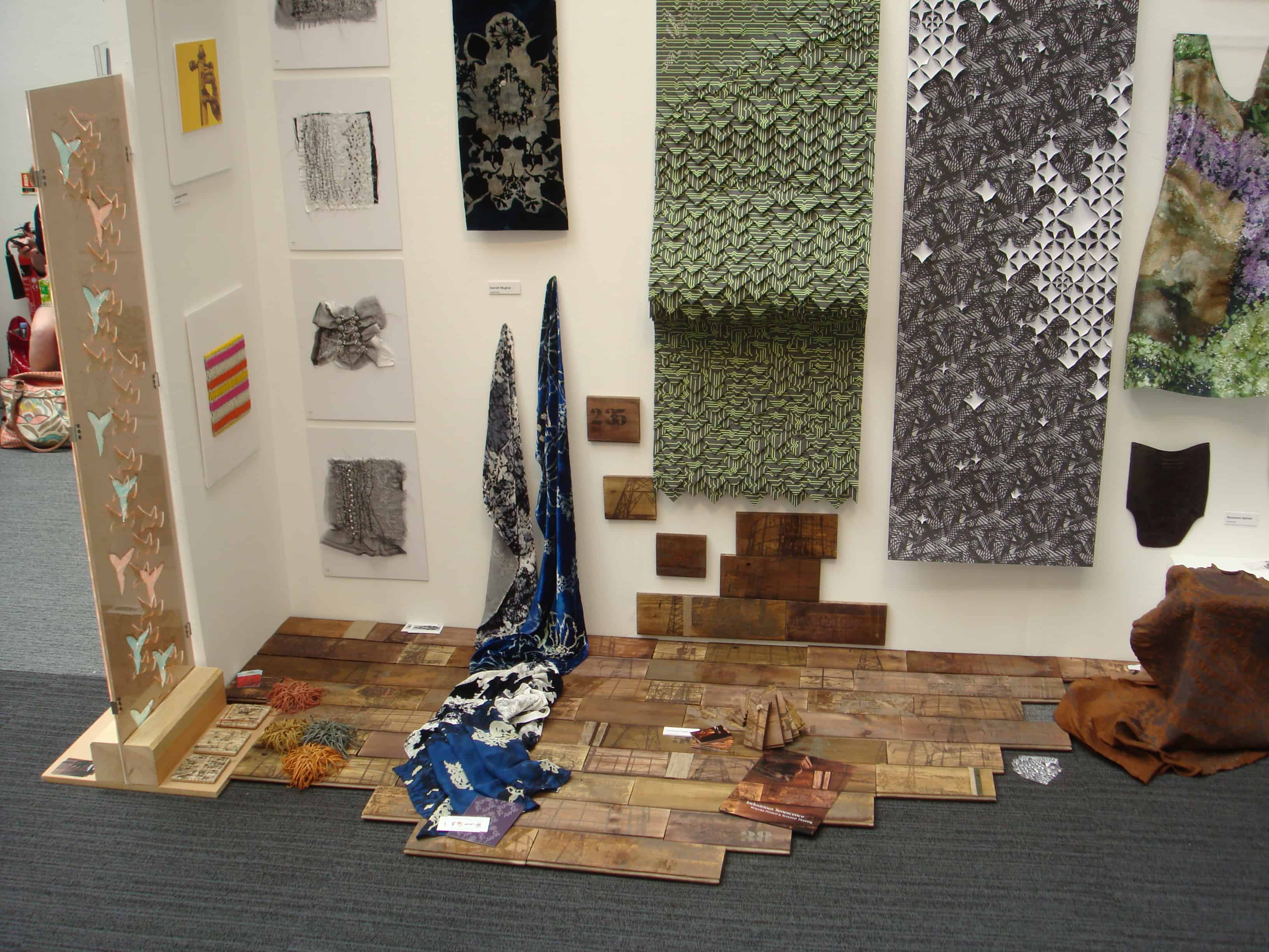 Anthony Hughes' exhibition stand at New Designers 2011