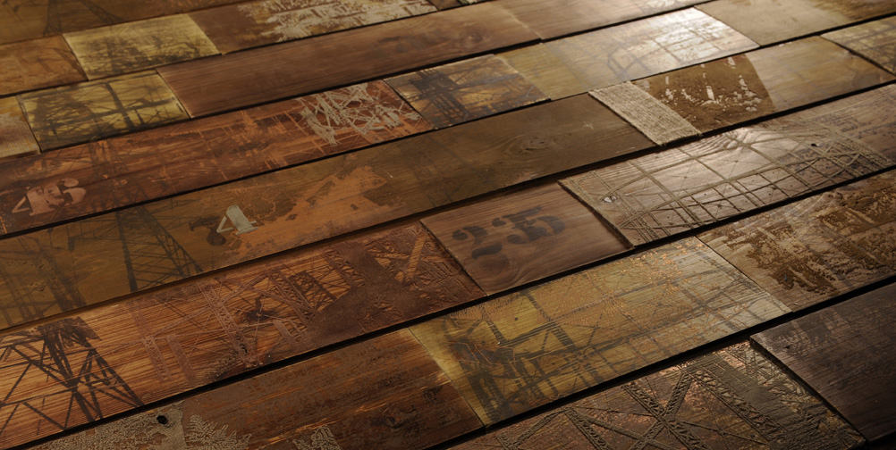 Industrious Senescence flooring by Anthony Hughes