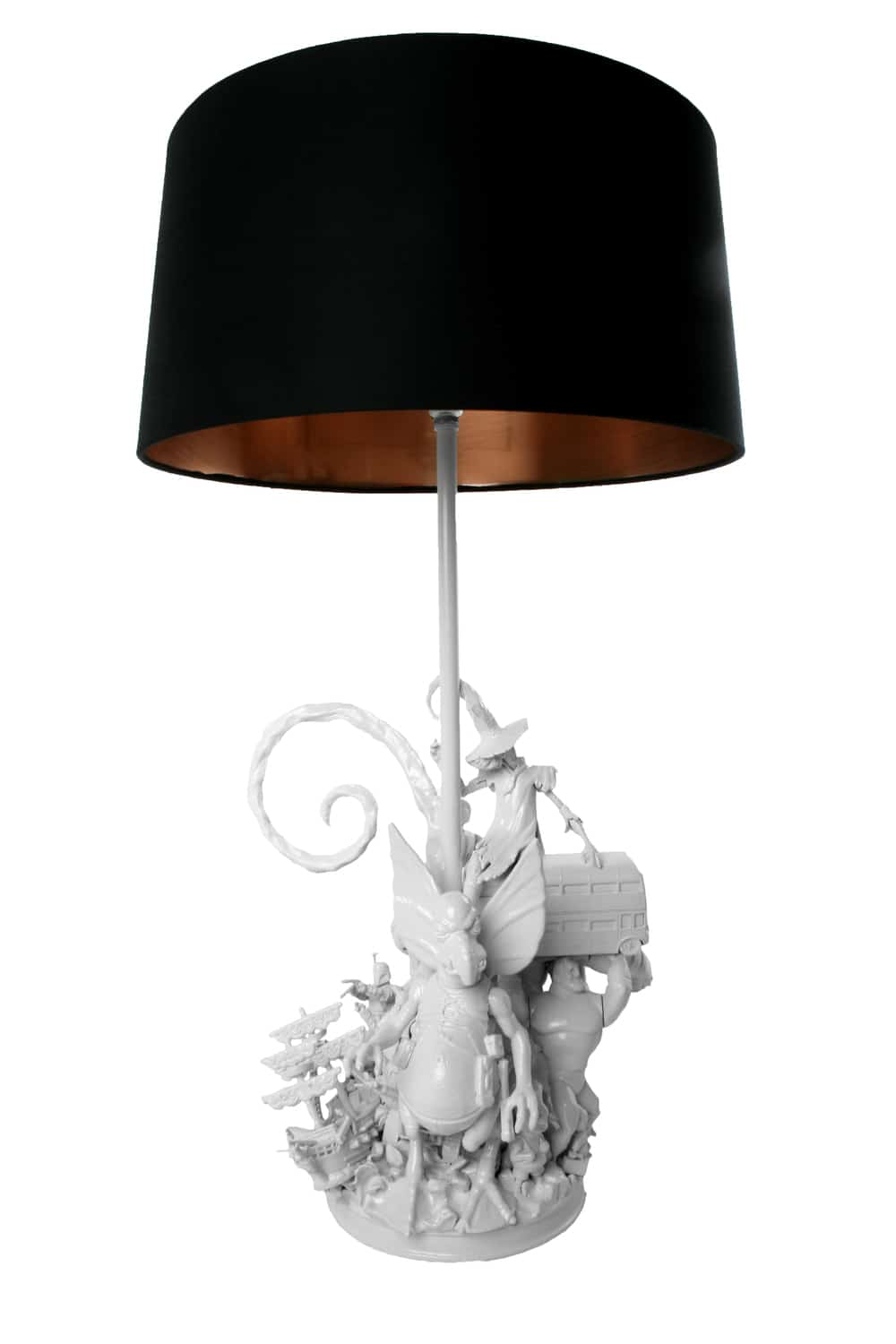 White Witch Lamp by Evil Robot Designs