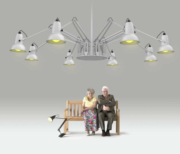 Anglepoise Giant1227 Chandelier