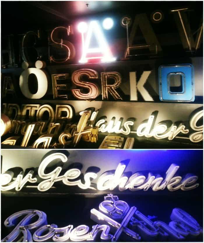 Buchstaben Museum Berlin 1