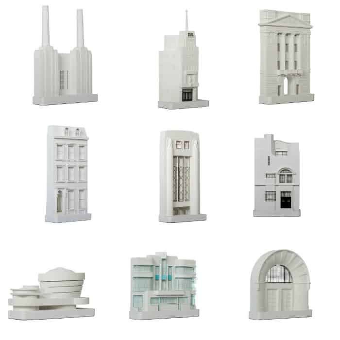 Decorative Architectural Models by Chisel & Mouse