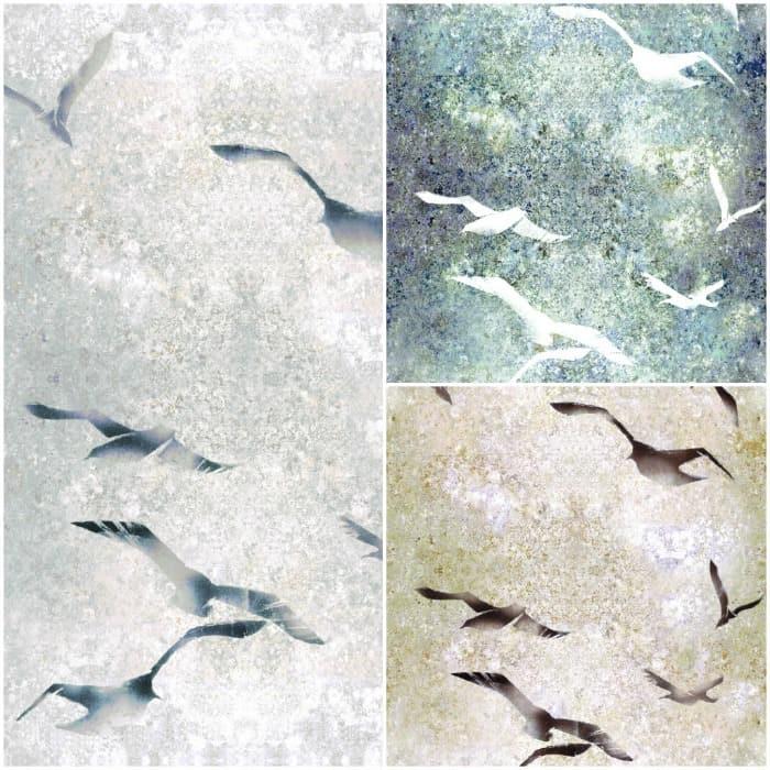 Flight Wallpaper by Louise Body - Closeup