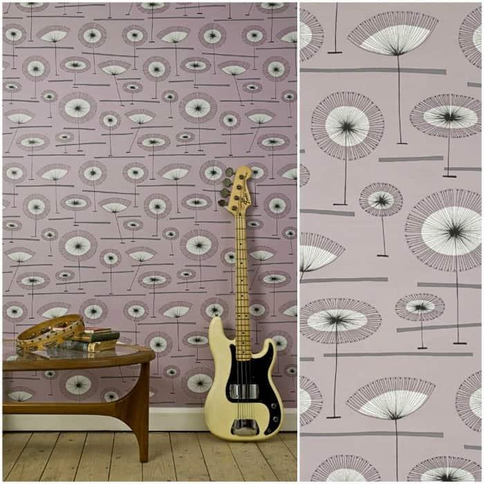 Grasslands Wallpaper in Clover by MissPrint