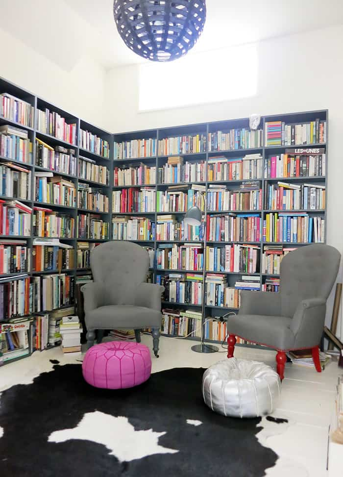 Kate Watson-Smyth's House - Library