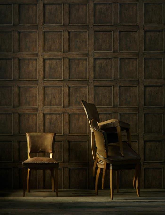 Regent Oak Wallpaper by Andrew Martin