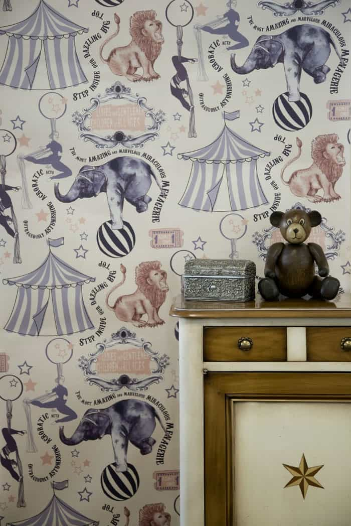 Stylish Quirky Wallpapers By Kate Usher The Design Sheppard