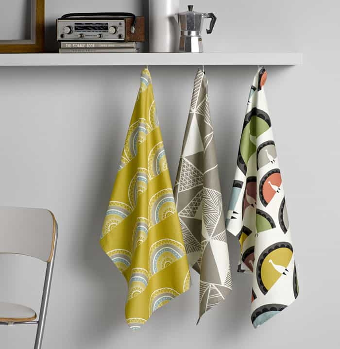 Tea Towels by Sian Elin