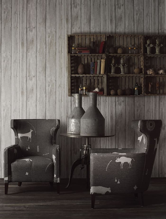 Timber Wallpaper by Andrew Martin