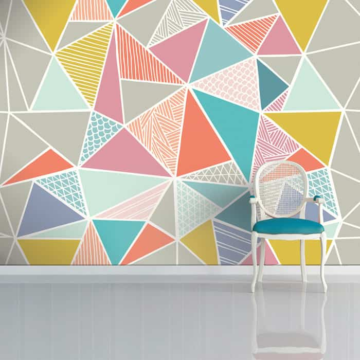 Truss Wallpaper by Sian Elin