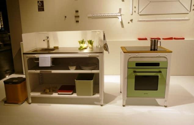 Naber Concept Kitchen at imm cologne 2013