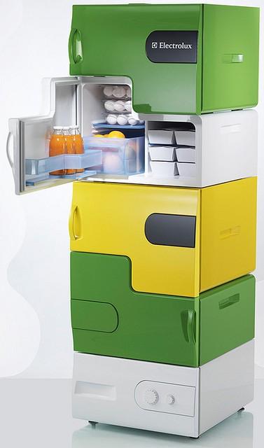 Electrolux Design Lab 2008 Winner - Flatshare  by Stefan Buchberger of Austria