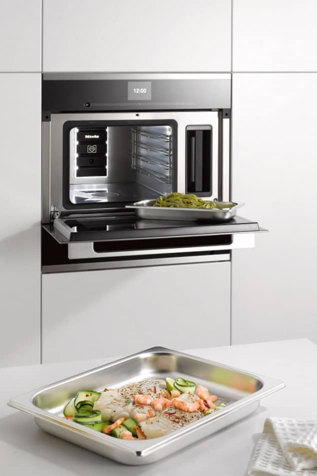 Generation 6000 built-in steam oven from Miele