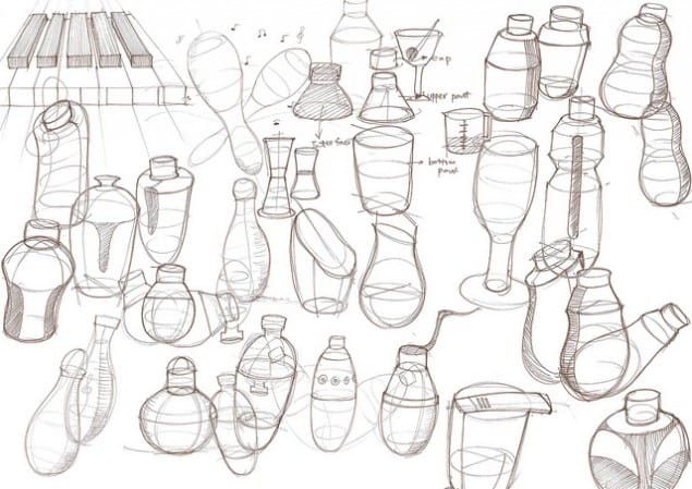 Sketch of Tempo Blender by Fu Chun Wan - Electrolux Design Lab 2012 semi-finalist