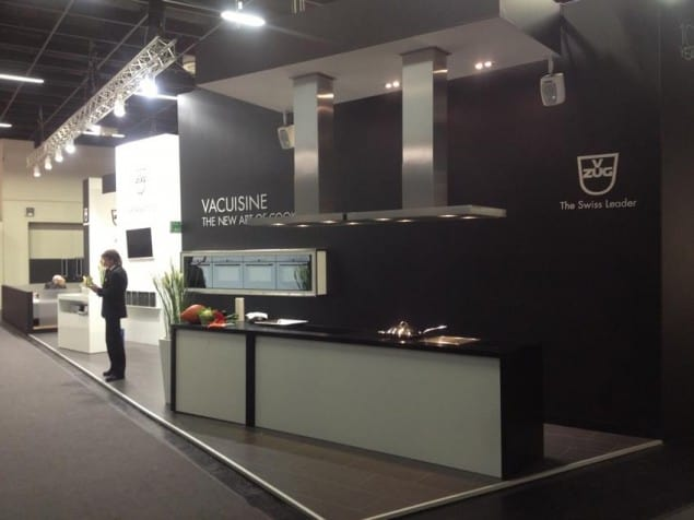 Vacuisine - VZug stand at LivingKitchen 2013