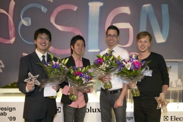 Electrolux Design Lab 2009 Finalists