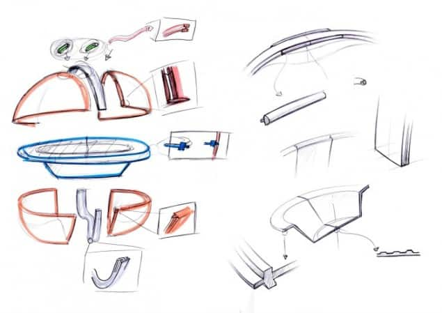 Electrolux Design Lab Cocoon sketches